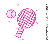sports icon design vector  | Shutterstock .eps vector #1207401556