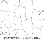 cracked  destroed texture.... | Shutterstock .eps vector #1207401880
