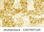 vector abstract triangles... | Shutterstock .eps vector #1207407130