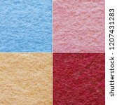 set of four different colors... | Shutterstock . vector #1207431283