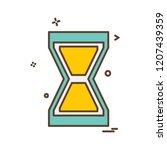 arrow icon design vector | Shutterstock .eps vector #1207439359