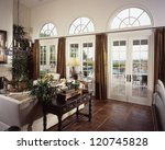 window exterior of home house... | Shutterstock . vector #120745828