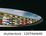 picture of restored former... | Shutterstock . vector #1207464640