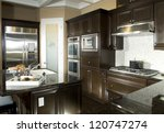 kitchen interior architecture... | Shutterstock . vector #120747274
