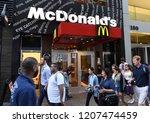 new york  usa   may 30  2018 ... | Shutterstock . vector #1207474459