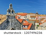 dubrovnik old town view from...   Shutterstock . vector #1207496236
