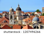 dubrovnik old town view from...   Shutterstock . vector #1207496266