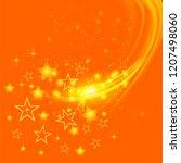 raster set of different stars... | Shutterstock . vector #1207498060