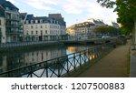 city water river | Shutterstock . vector #1207500883