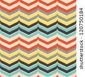 seamless curve edged chevron...   Shutterstock .eps vector #120750184