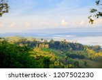 morning mist sunrise at khao... | Shutterstock . vector #1207502230