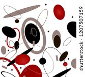 abstraction sport energy... | Shutterstock .eps vector #1207507159