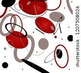 abstraction sport energy... | Shutterstock .eps vector #1207508026