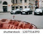 riga  october 2018   the rolls... | Shutterstock . vector #1207516393