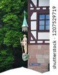 st. georg in obere schmiedgasse ... | Shutterstock . vector #1207529719
