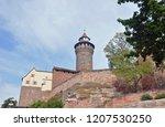 castle in nuremberg | Shutterstock . vector #1207530250