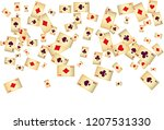 casino playing cards are... | Shutterstock .eps vector #1207531330