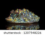 macro mineral stone titanium... | Shutterstock . vector #1207548226