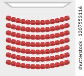 cinema theater hall.  top view  ... | Shutterstock .eps vector #1207553116