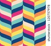 seamless ribbon chevron...   Shutterstock .eps vector #120757978