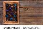 italian espresso coffee... | Shutterstock . vector #1207608343