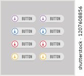 x mas tree icon   vector icon | Shutterstock .eps vector #1207608856