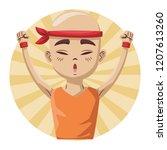 young asian man   Shutterstock .eps vector #1207613260
