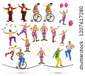 circus big set | Shutterstock .eps vector #1207617280