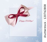 christmas and new year's card... | Shutterstock .eps vector #120762808