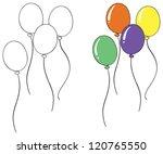 Illustration Of A Balloon...
