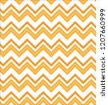 seamless zig zag pattern.... | Shutterstock .eps vector #1207660999