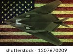Military Stealth Aircraft On...