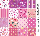 Set Of Seamless Patterns For...
