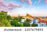 Brno  Czech Republic  Sunset...
