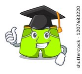 graduation cartoon sport... | Shutterstock .eps vector #1207683220