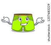 grinning cartoon sport fashion... | Shutterstock .eps vector #1207683229