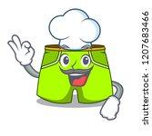 chef cartoon sport fashion... | Shutterstock .eps vector #1207683466
