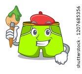 artist character style short...   Shutterstock .eps vector #1207685356