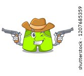 cowboy character style short...   Shutterstock .eps vector #1207685359