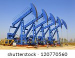 oil and gas industry. work of... | Shutterstock . vector #120770560
