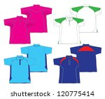 polo jersey design | Shutterstock .eps vector #120775414