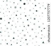 dark blue vector seamless...   Shutterstock .eps vector #1207757779