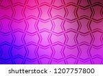 light purple  pink vector...   Shutterstock .eps vector #1207757800