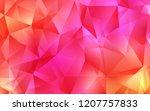 light pink  yellow vector...   Shutterstock .eps vector #1207757833