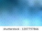 light blue vector pattern with...   Shutterstock .eps vector #1207757866