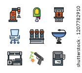 arm icon set. vector set about... | Shutterstock .eps vector #1207782910