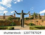 The Statue Of Nelson Mandela A...