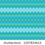 turquoise  green seamless...   Shutterstock . vector #1207824613