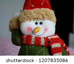Snowman Composing The Christmas ...