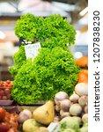 harvest on market   fresh... | Shutterstock . vector #1207838230